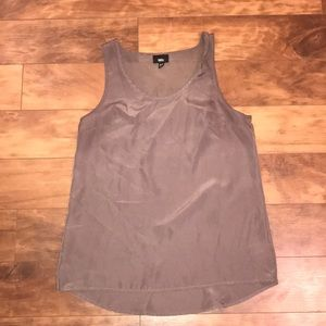 Taupe tank top (dressy)